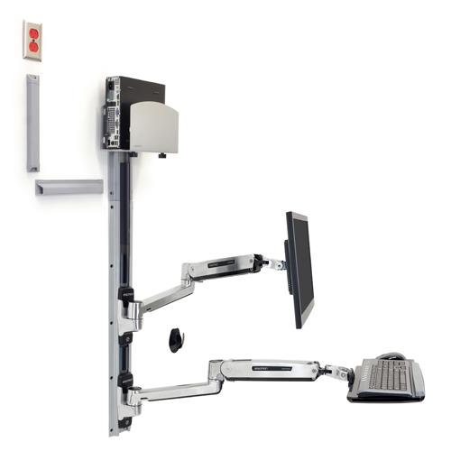 Ergotron LX Sit Stand Wall Mount System dealers in chennai