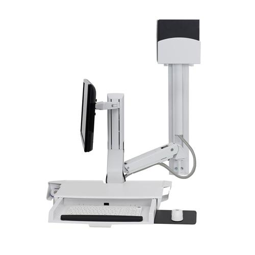 Ergotron SV Combo Arm with Worksurface and Pan dealers in chennai