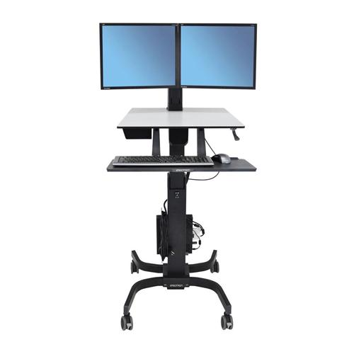 Ergotron WorkFit C Dual Sit Stand Workstation dealers in chennai