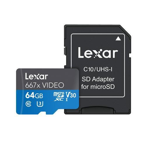 Lexar Professional 667x VIDEO microSDXC UHS I Card dealers in chennai